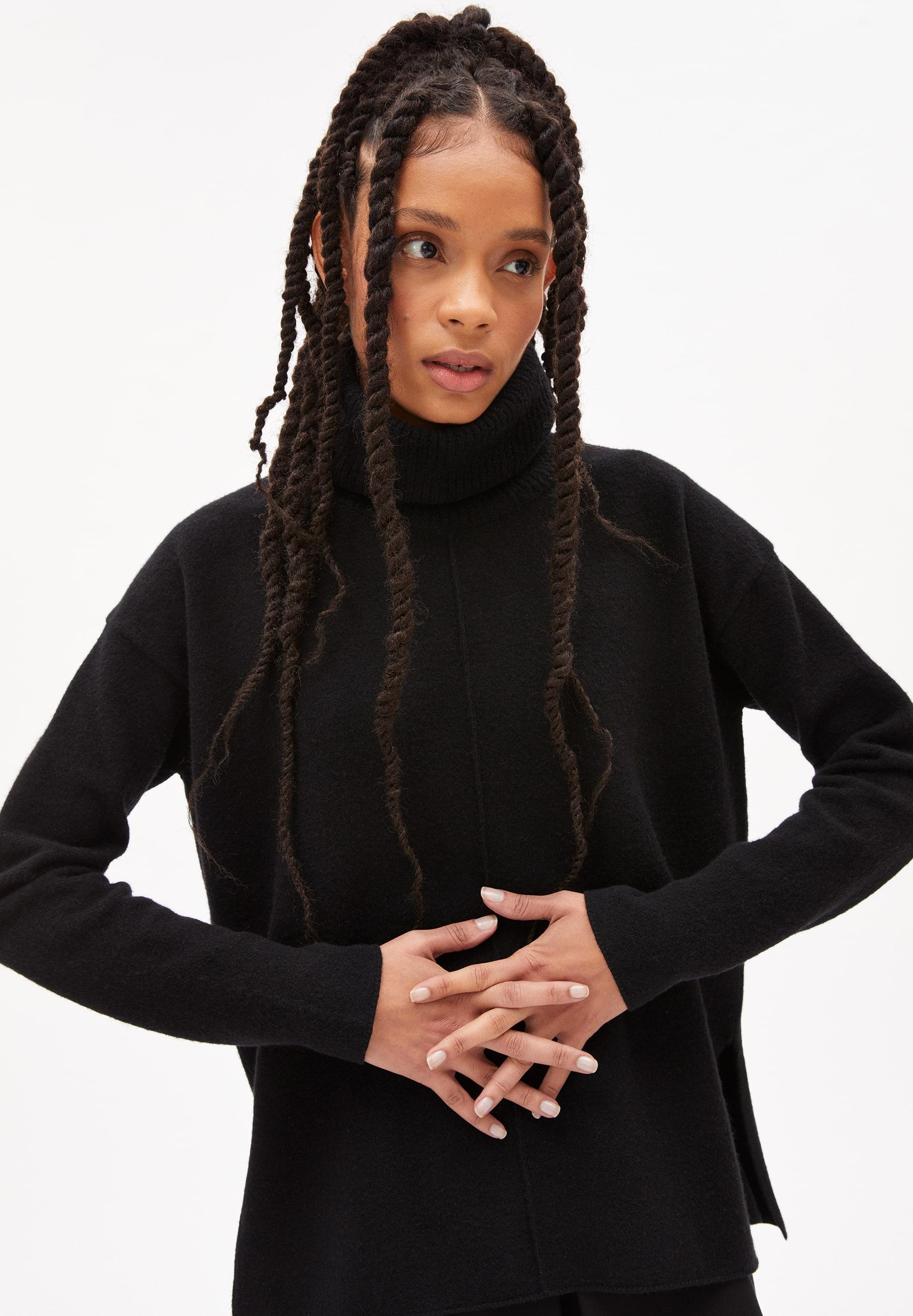 RAYAA  RECYCLED WOOL Sweater made of Organic Wool Mix