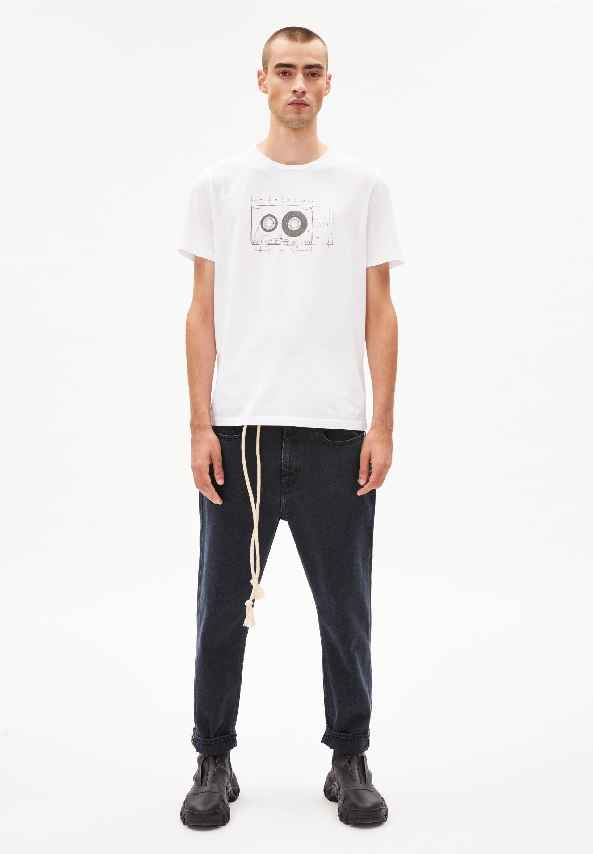 JAAMES TAPE T-shirt en coton biologique