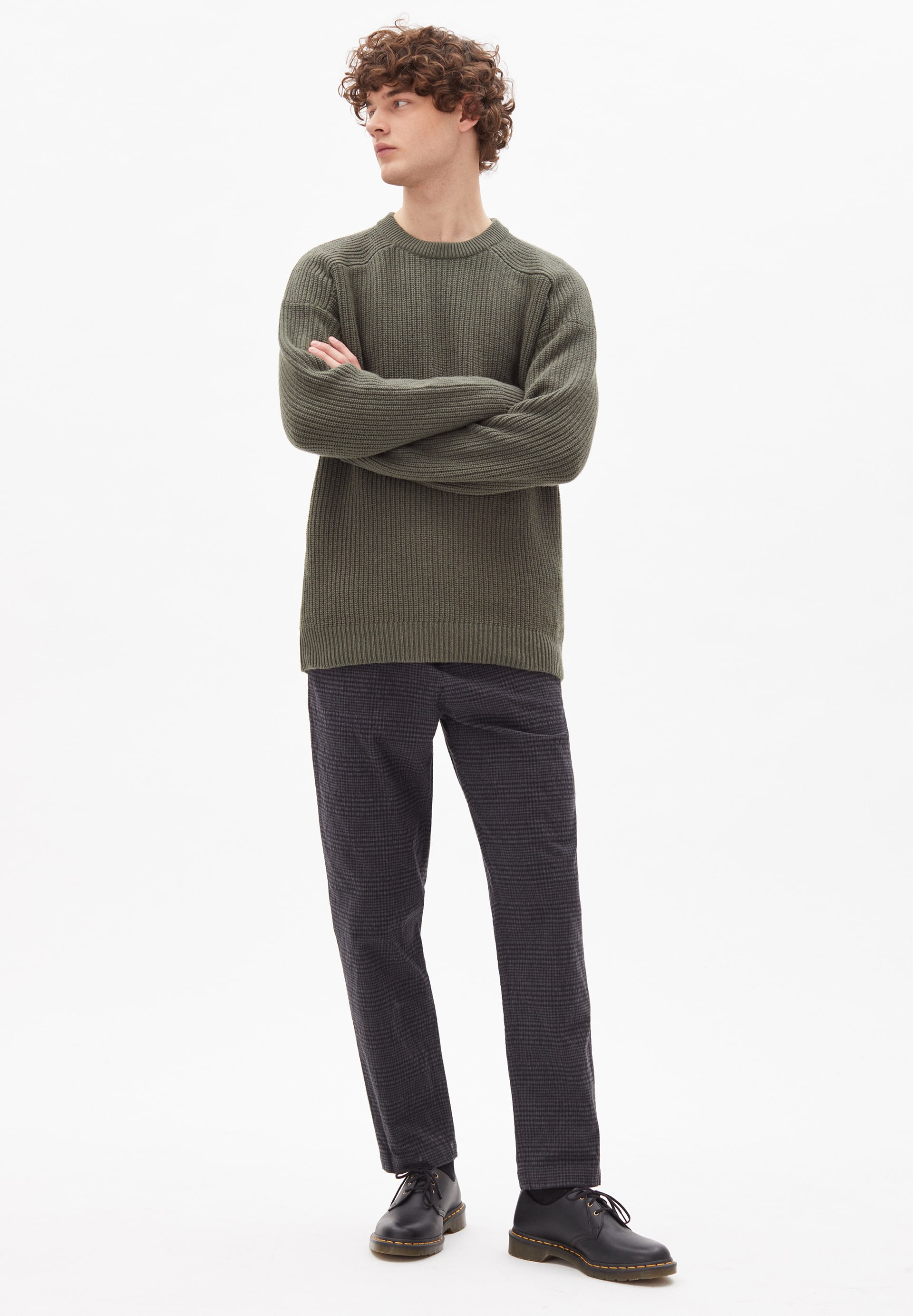 AARVIS Sweater made of Organic Cotton Mix