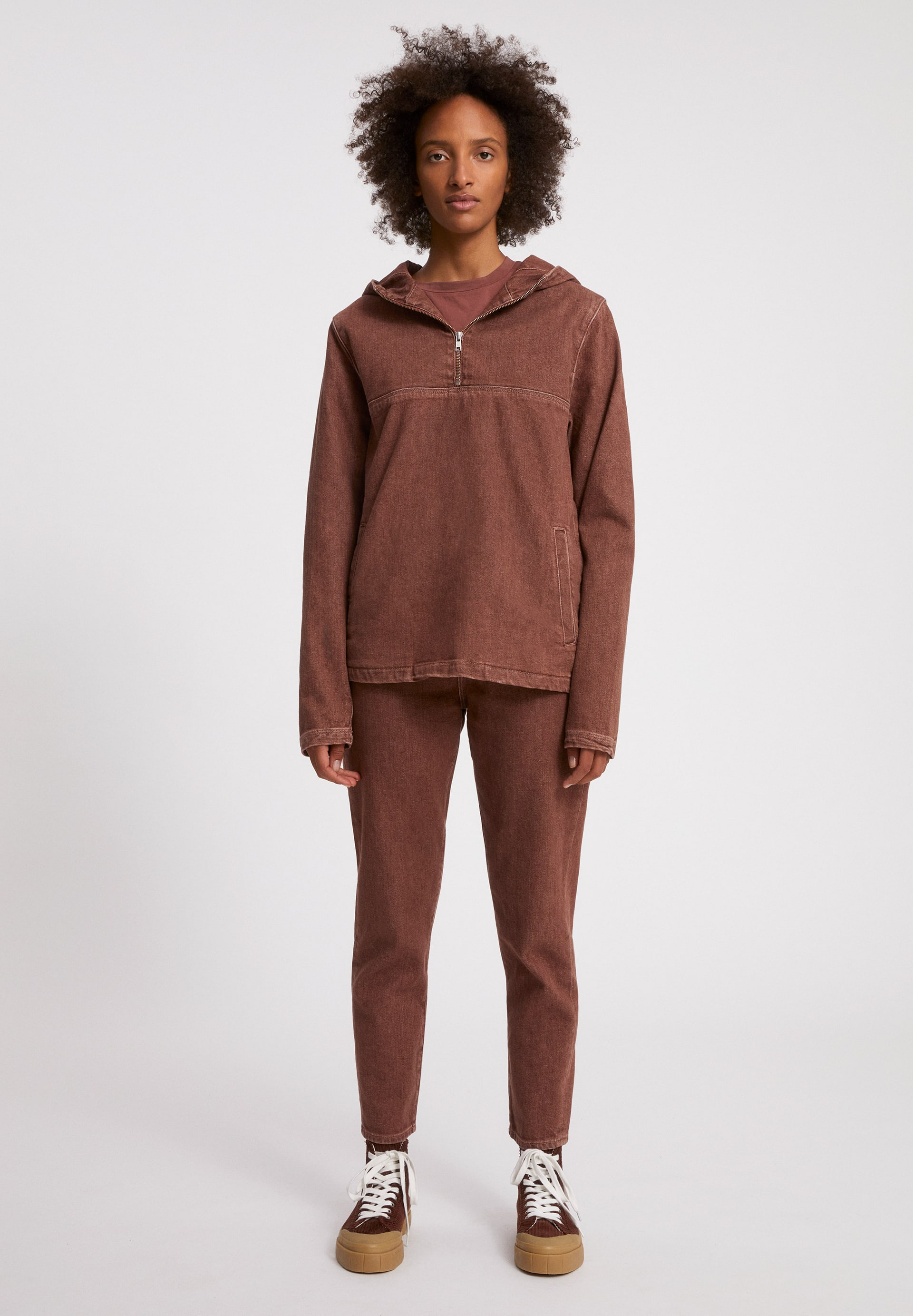 AAKIS EARTHCOLORS® Denim Jacket made of Organic Cotton Mix