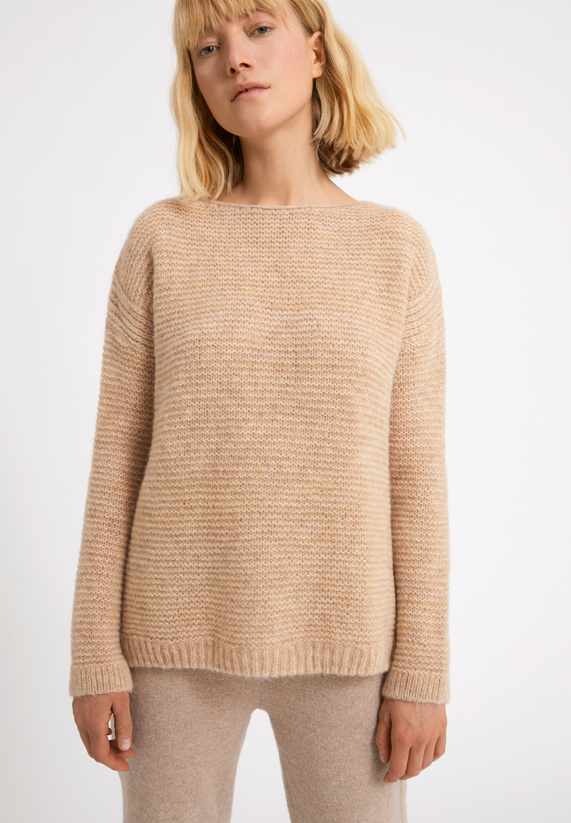 AGLAIAA Sweater made of Alpaca Wool Mix