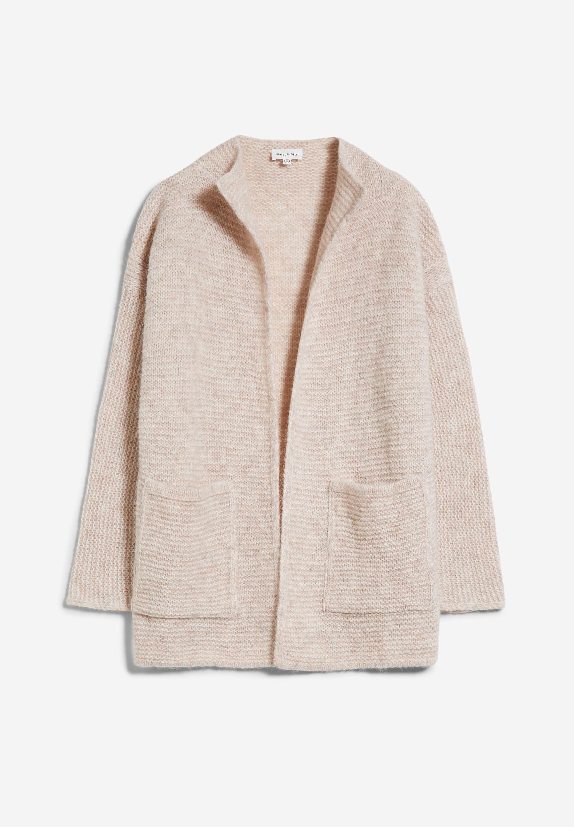 AINAA Cardigan made of Alpaca Wool Mix