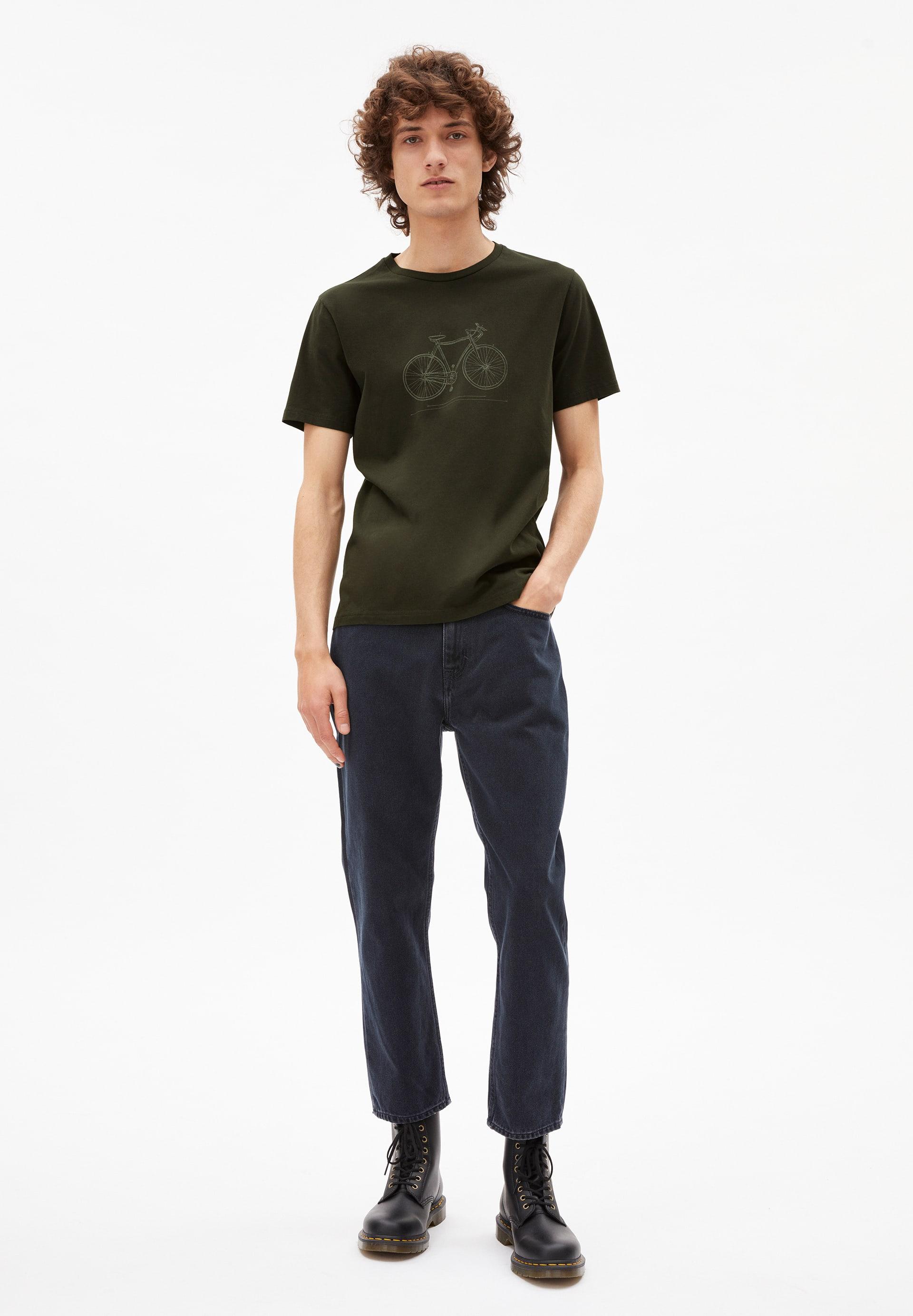JAAMES TECH BIKE T-shirt en coton biologique