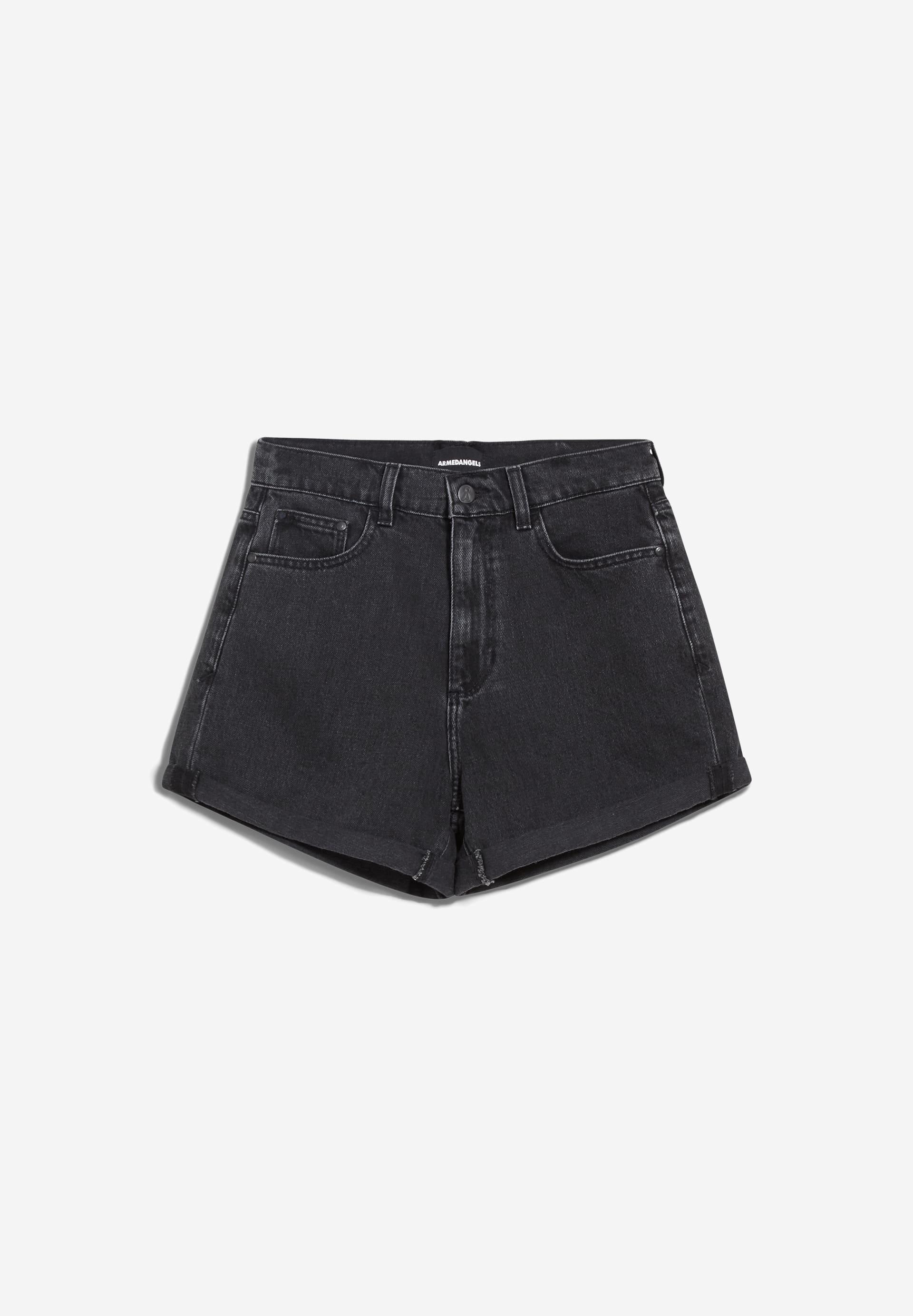 SILVAA Denim Shorts aus Bio-Baumwolle