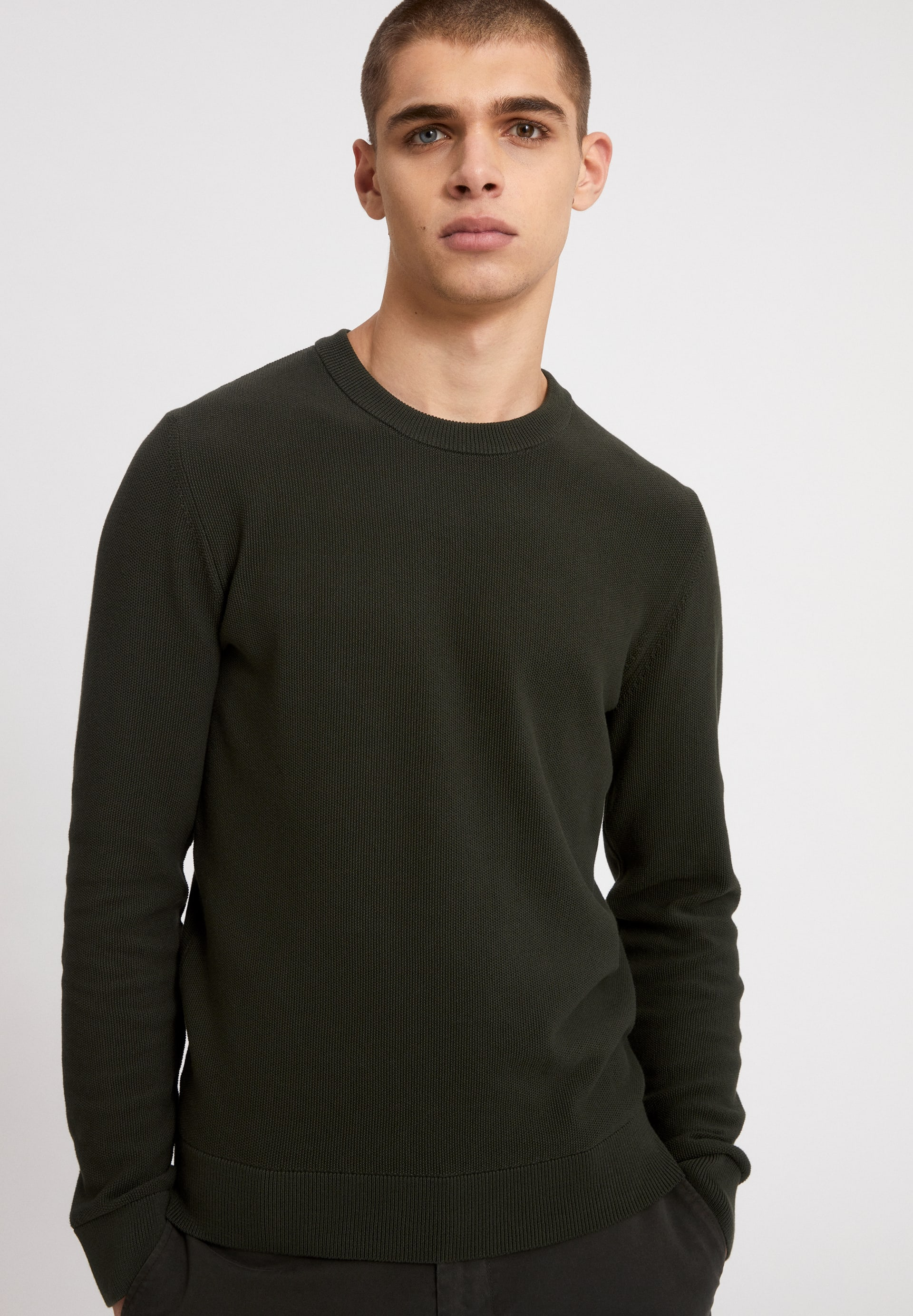 GRAANO COMPACT Pullover aus Bio-Baumwolle