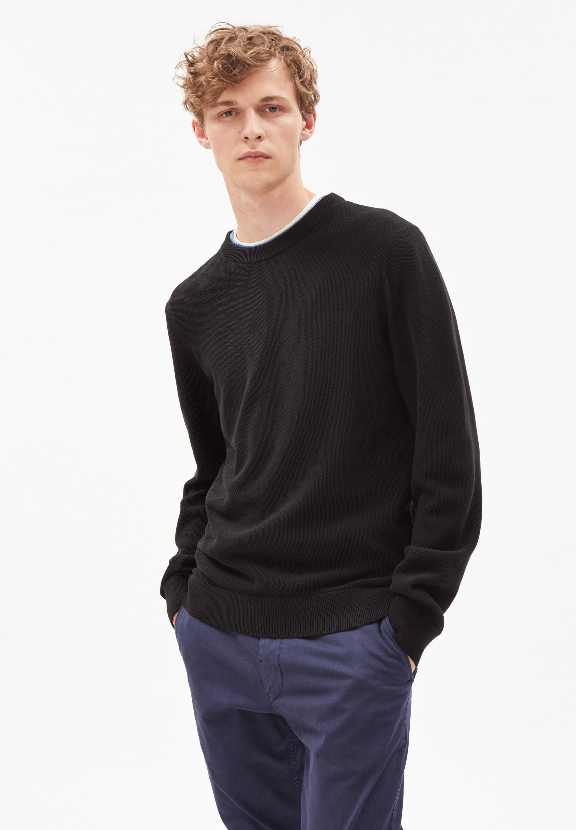GRAANO COMPACT Sweater made of Organic Cotton