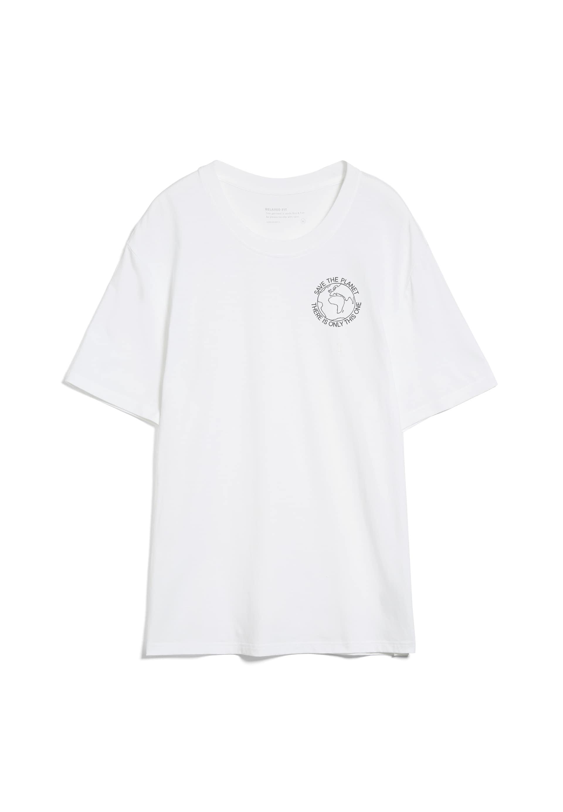 AADO SAVE THE PLANET T-Shirt aus Bio-Baumwolle