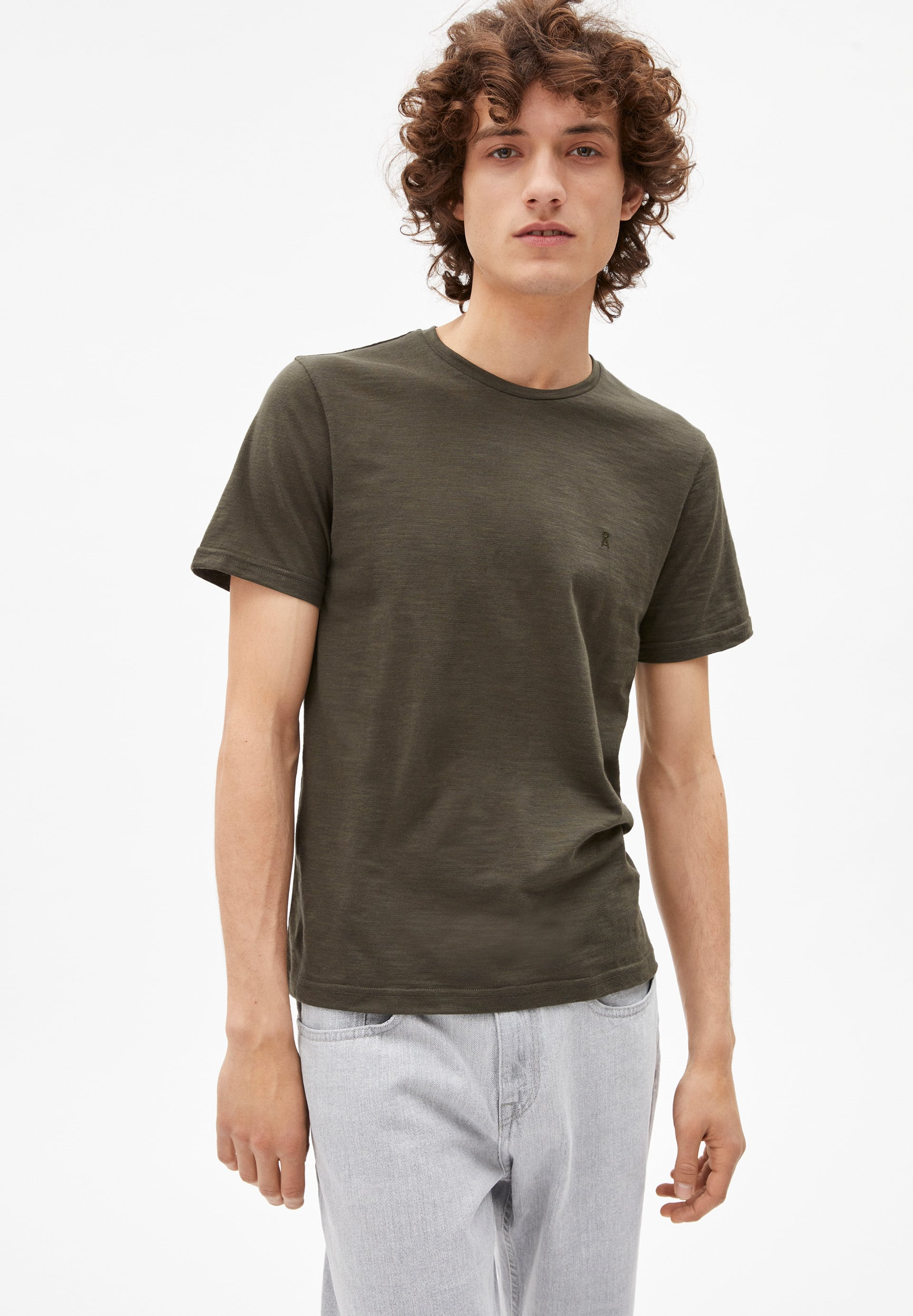 JAAMES STRUCTURE T-shirt en coton bio