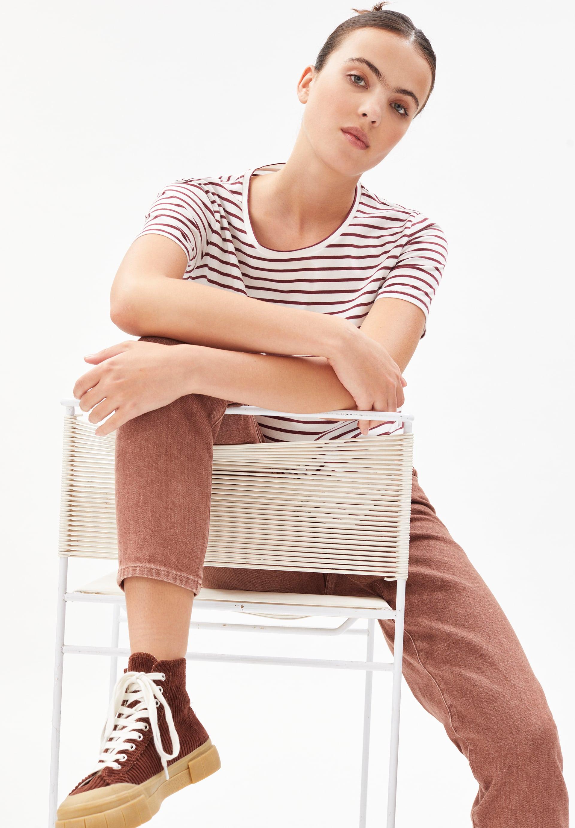 MINAA STRIPES T-Shirt aus Bio-Baumwolle