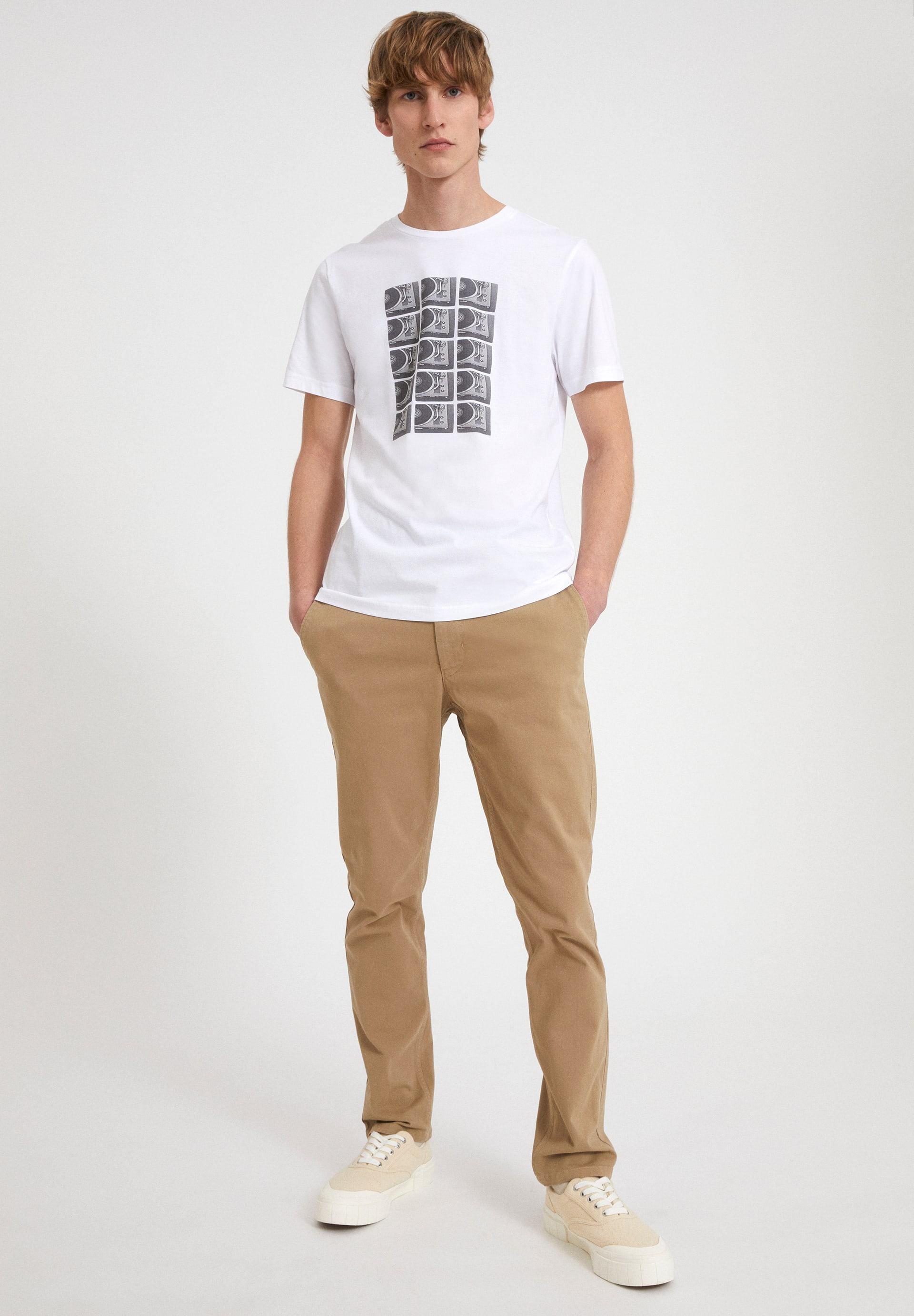 JAAMES TURNTABLES T-shirt van biologisch katoen