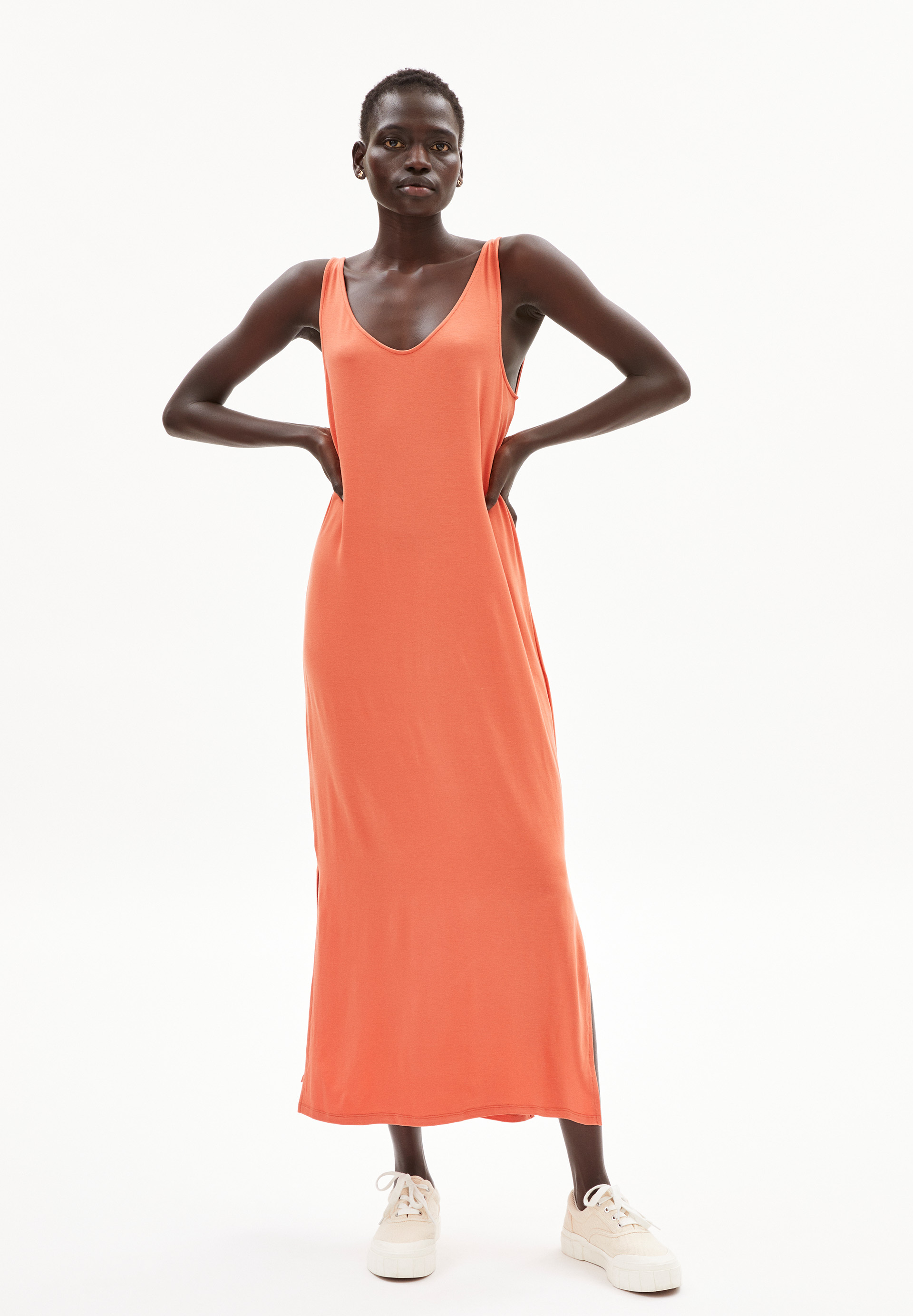 MADALENAA Jersey jurk van LENZING™ ECOVERO™ mix