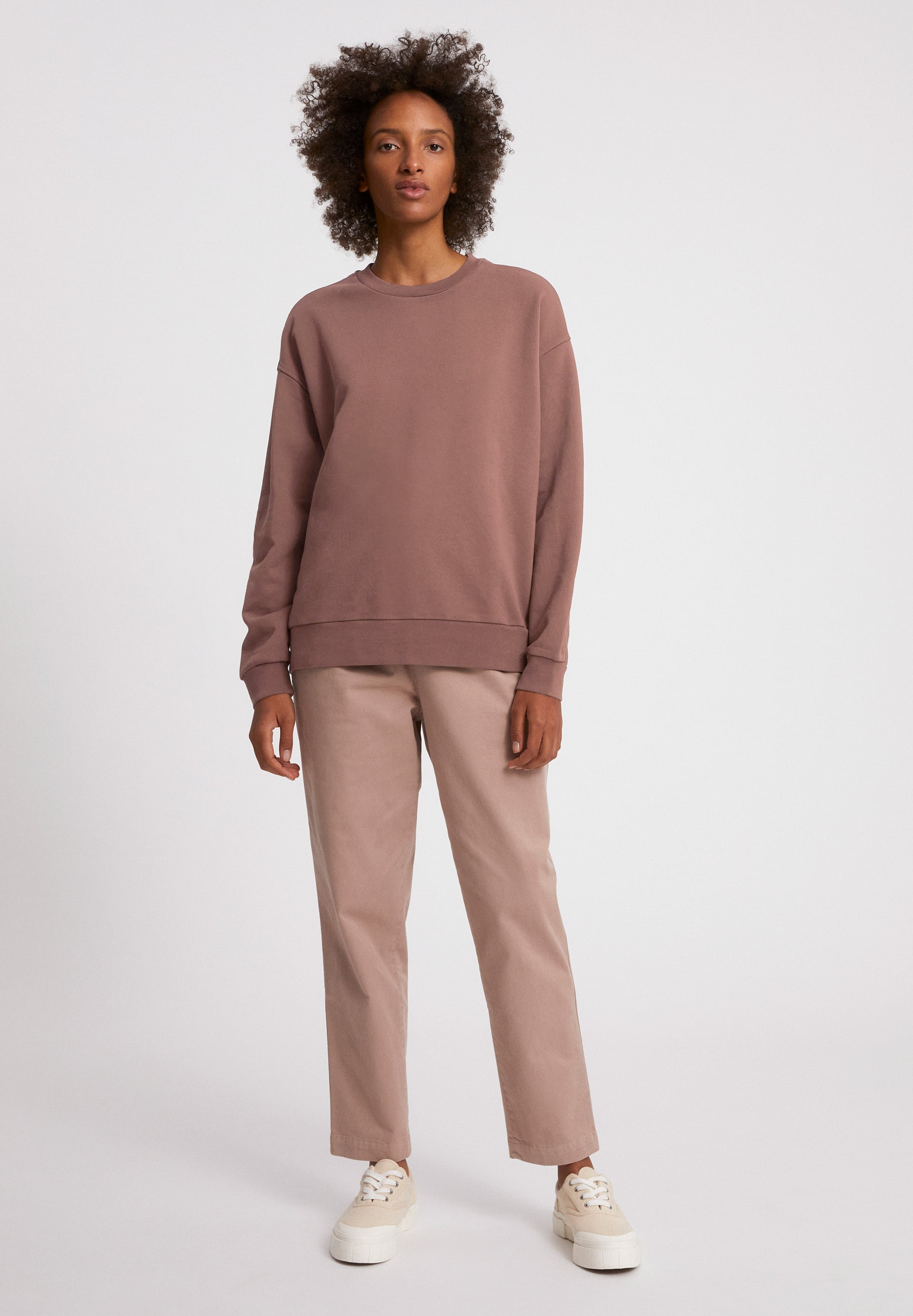 AARIN EARTHCOLORS® Sweatshirt van biologisch katoen