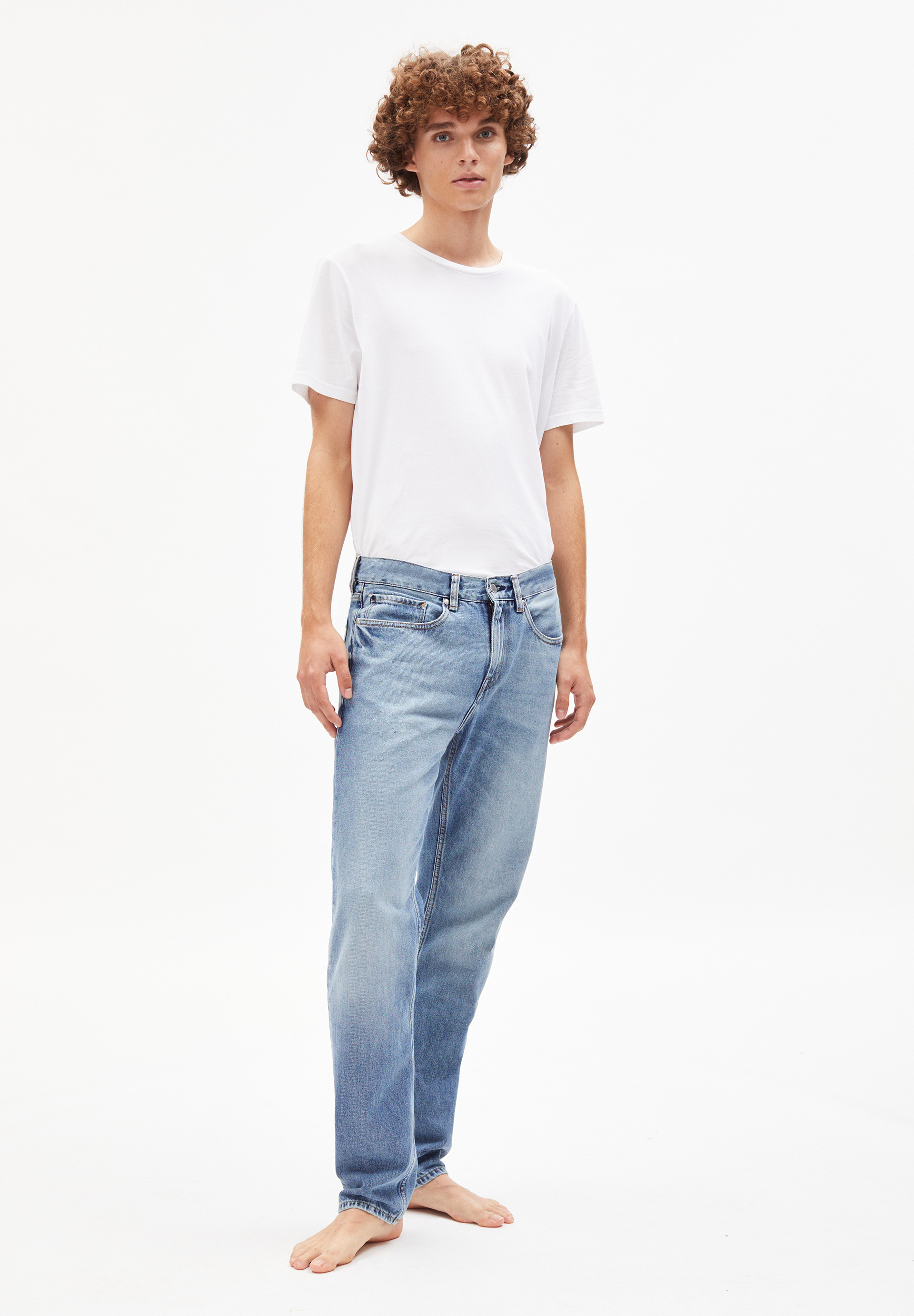 DYLAAN Denim coupe droite