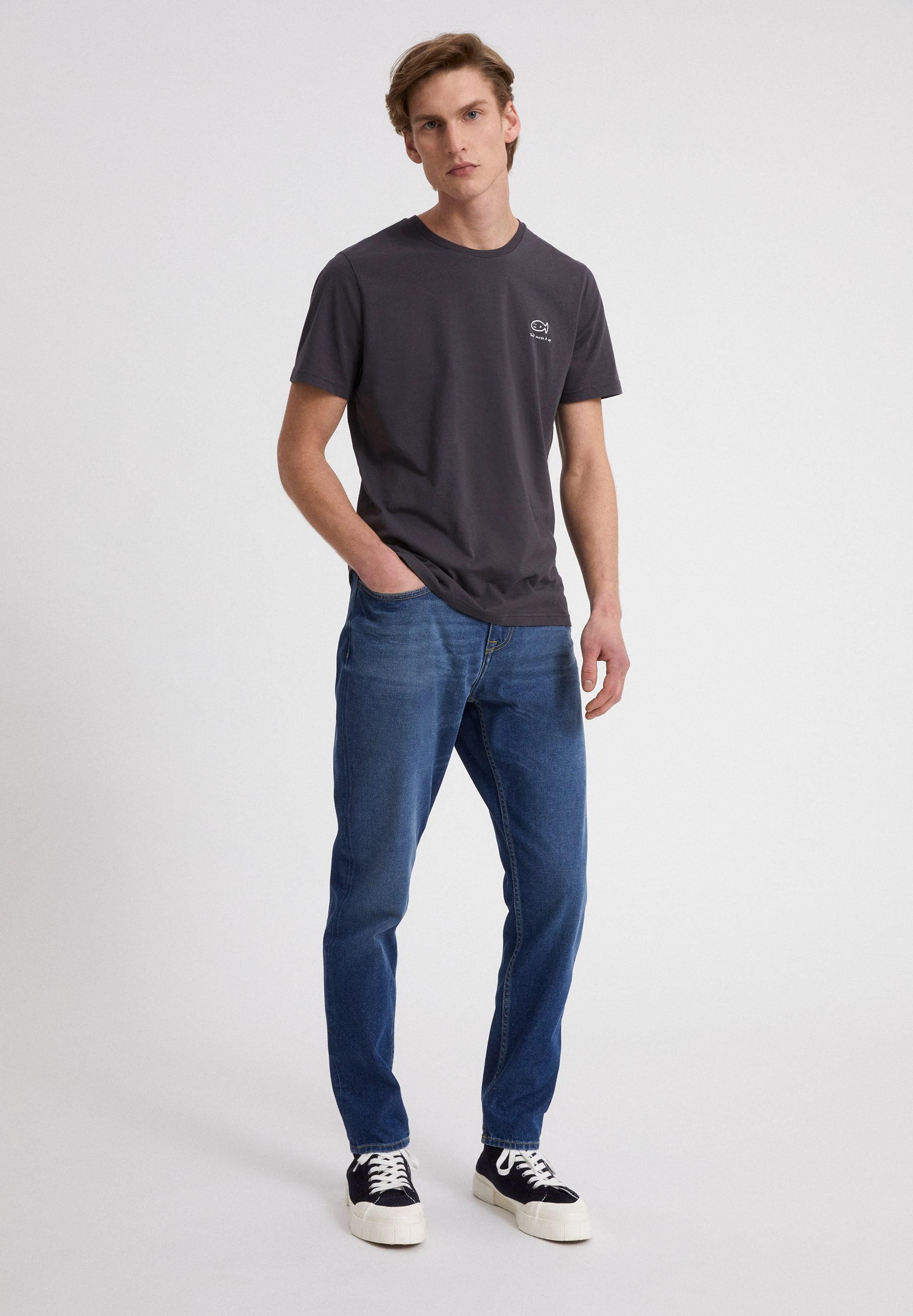 JAAMES DONT MESS IT UP T-shirt en coton biologique