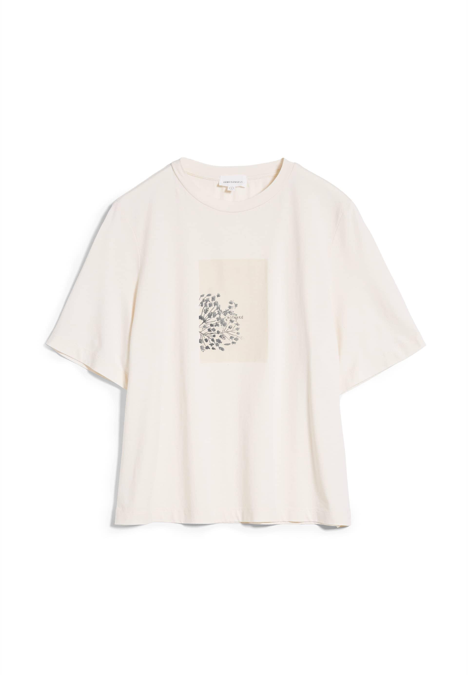 LAYAA BOTANEE T-shirt en coton biologique