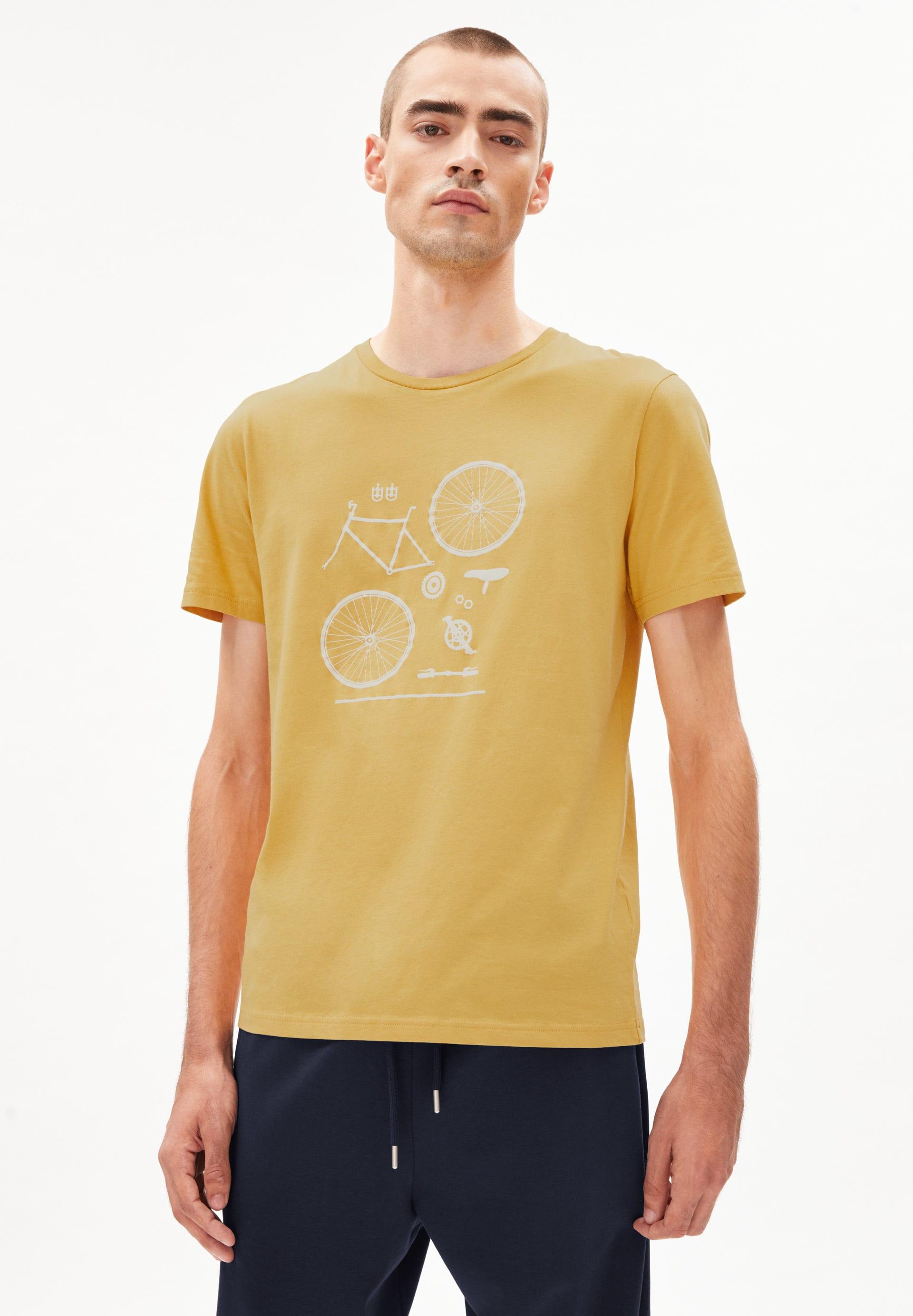 JAAMES BIKE PARTS T-shirt en coton biologique