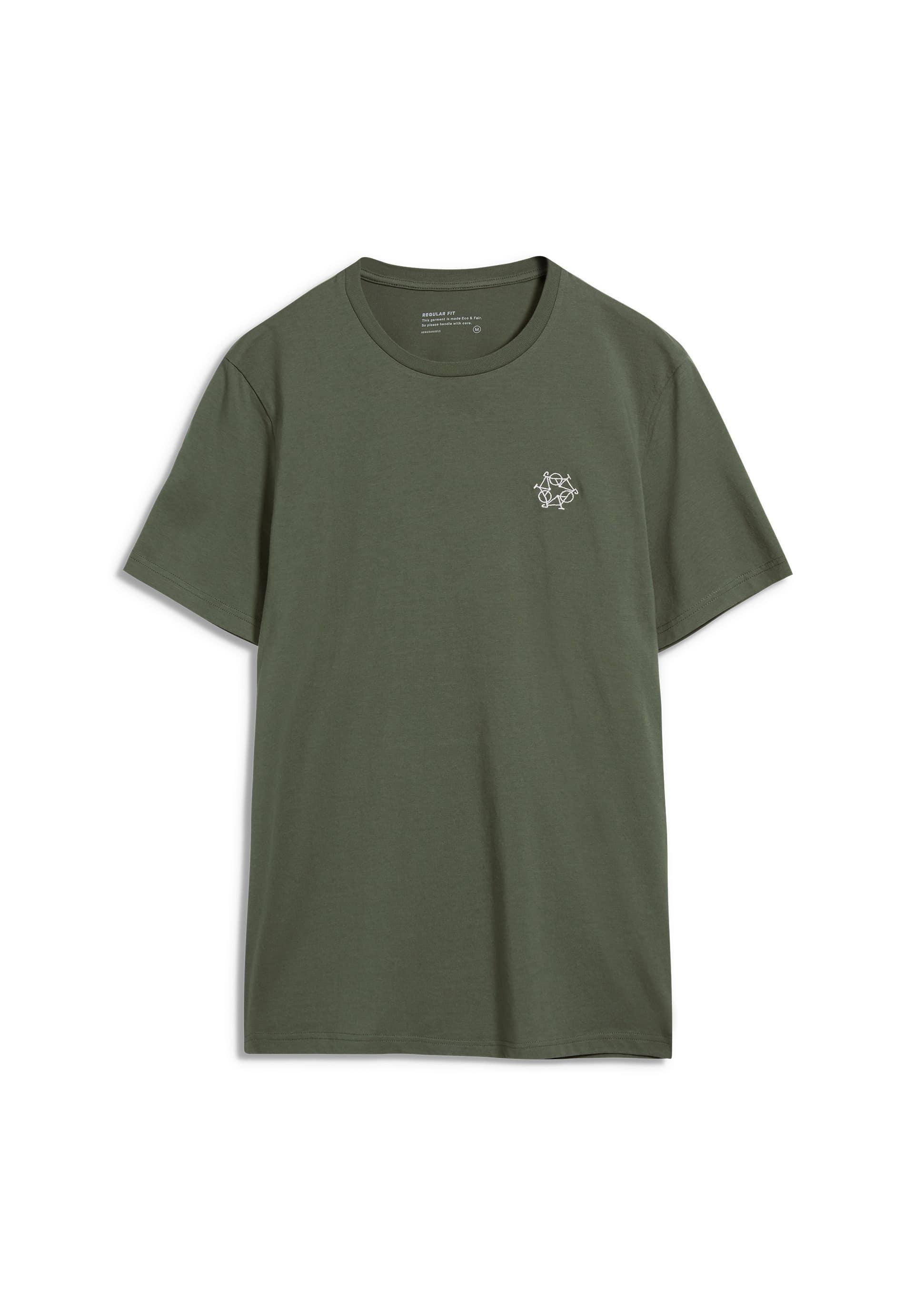 JAAMES BIKE EMBRO T-Shirt made of Organic Cotton