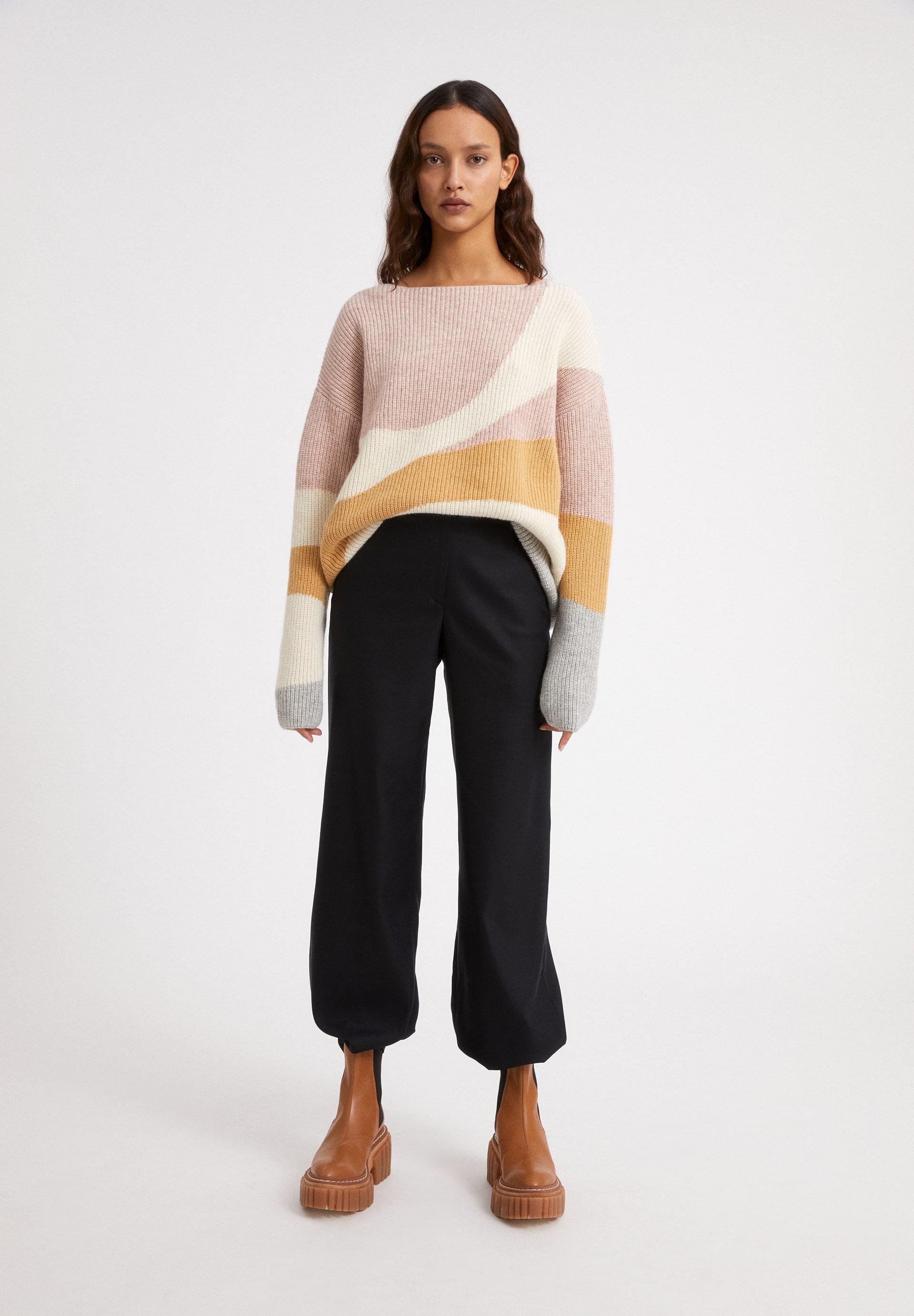 MIYAA SOFT HILLS Sweater made of Organic Wool Mix