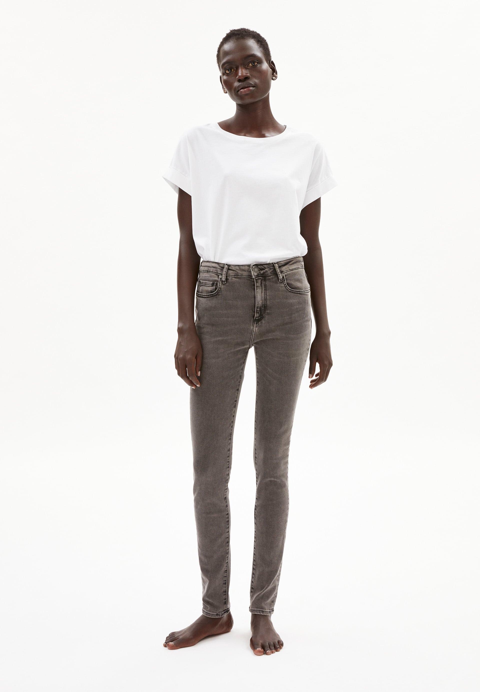 TILLAA X STRETCH Jeans van biologische katoenmix