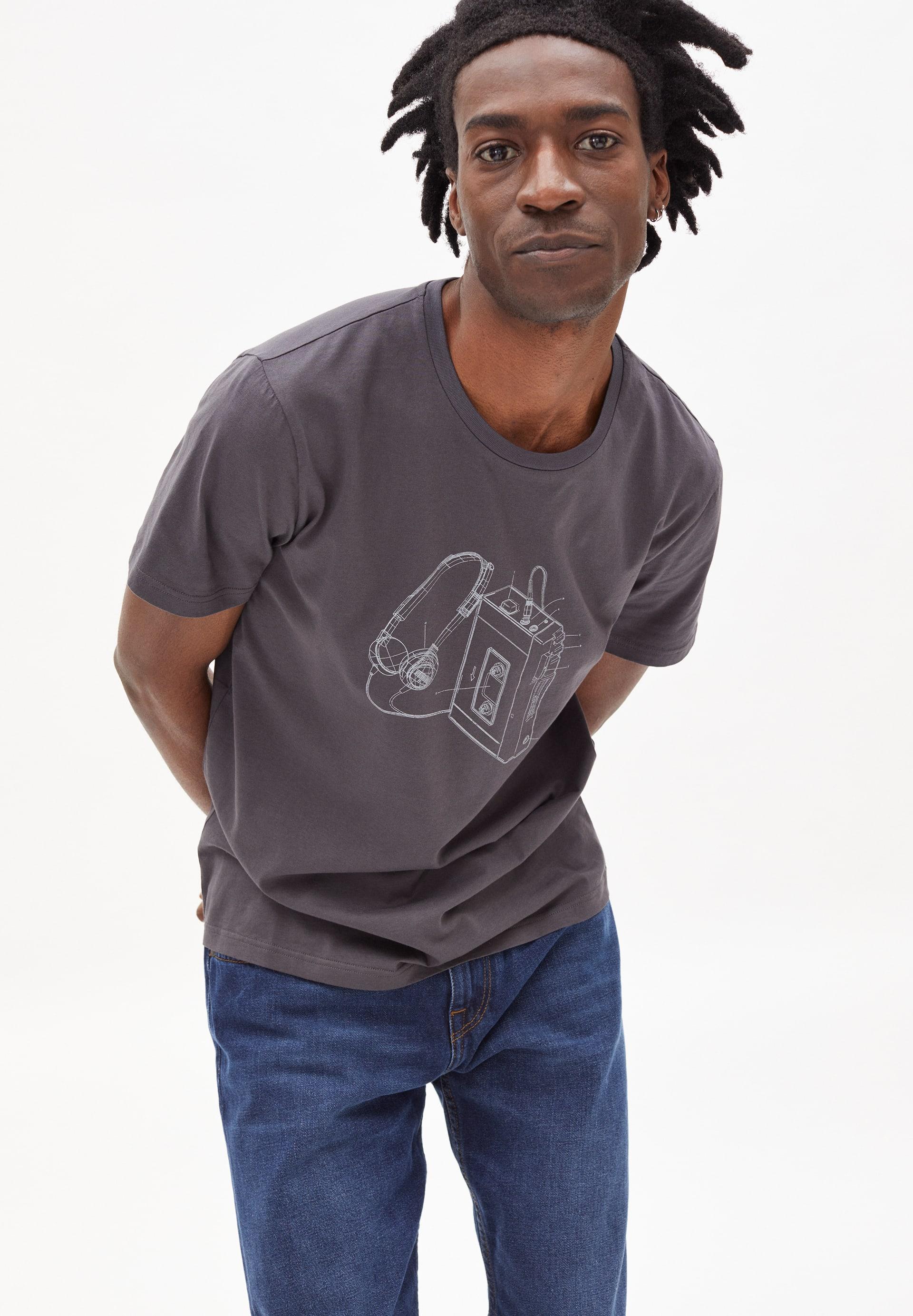 JAAMES WALKMAN T-shirt en coton biologique