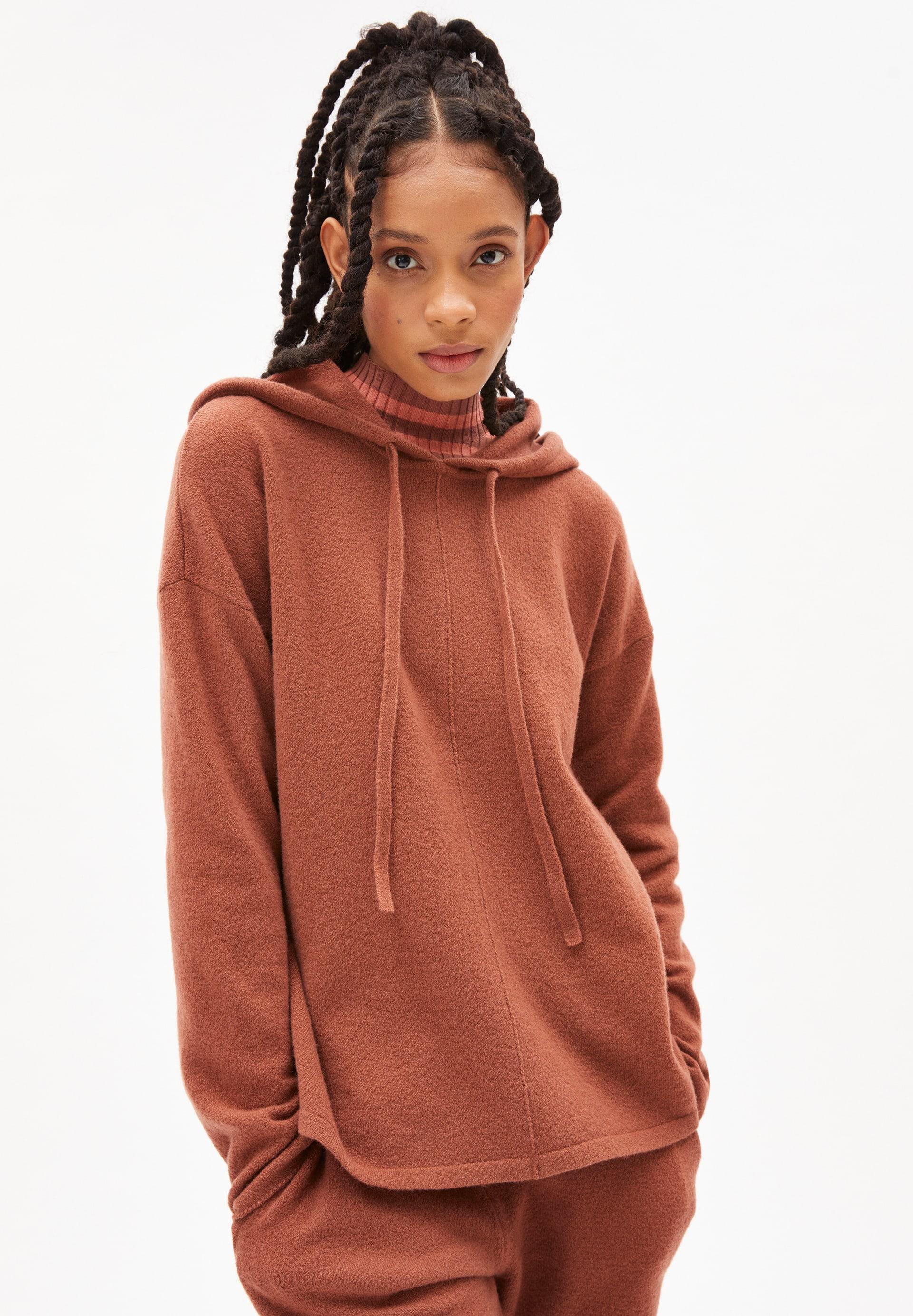 BRIANAA RECYCLED WOOL Sweater made of Organic Wool Mix
