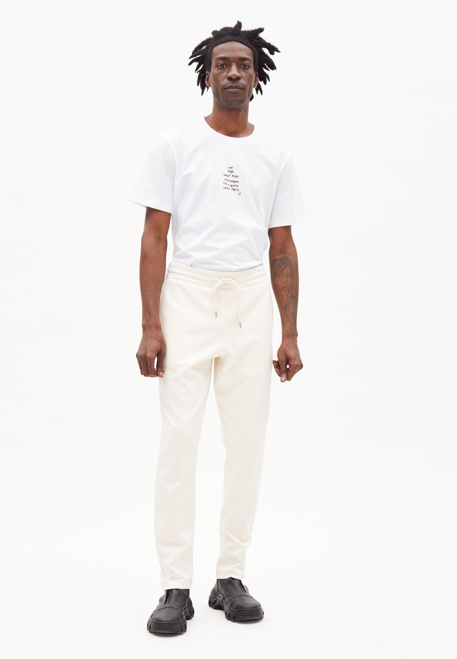 LUCAAI UNDYED Sweat Pants made of Organic Cotton