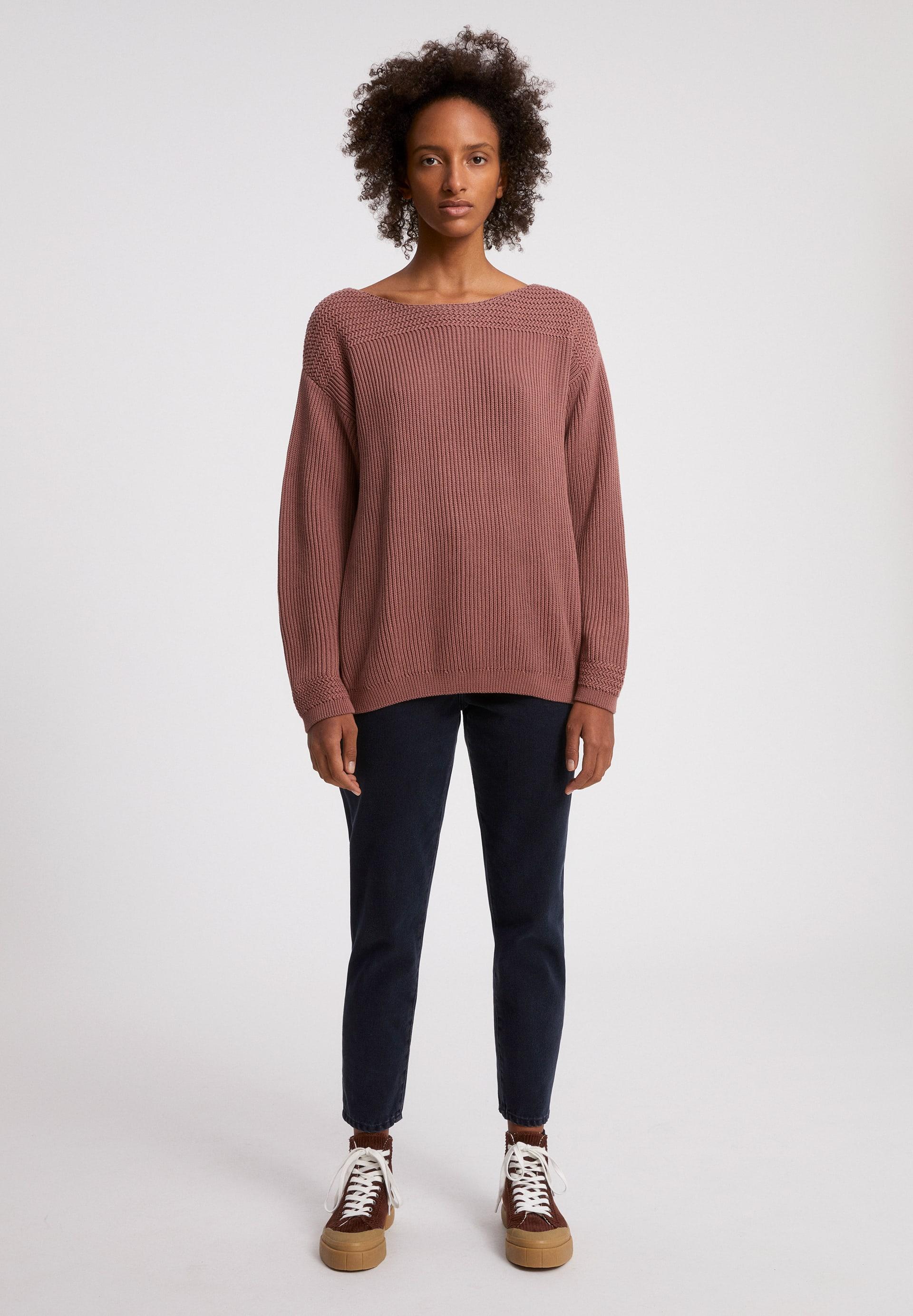 RAACHELA EARTHCOLORS® Pullover aus Bio-Baumwolle