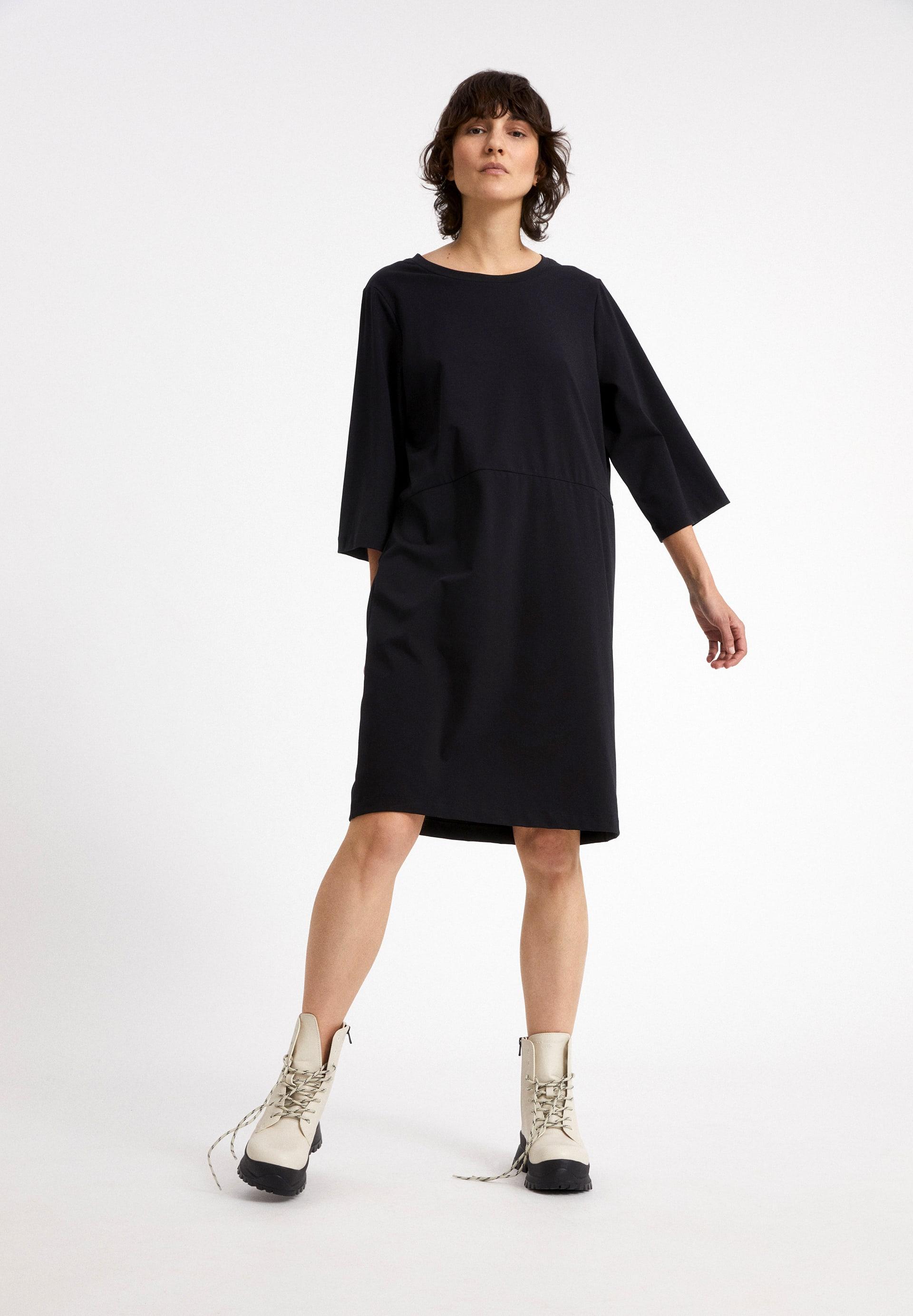 AASLI Jersey jurk van biologische katoenmix