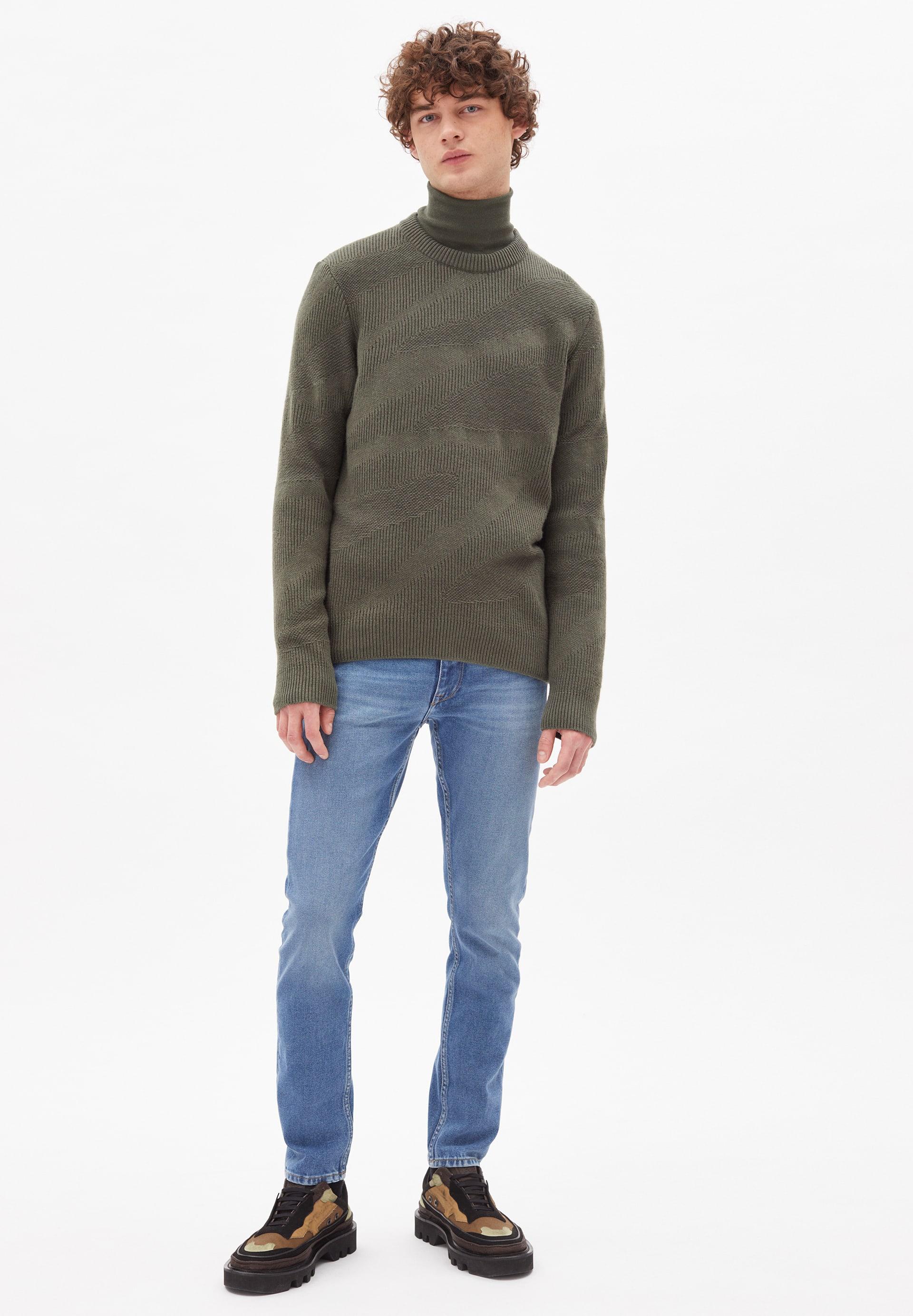 TRAAI Sweater made of Organic Wool Mix