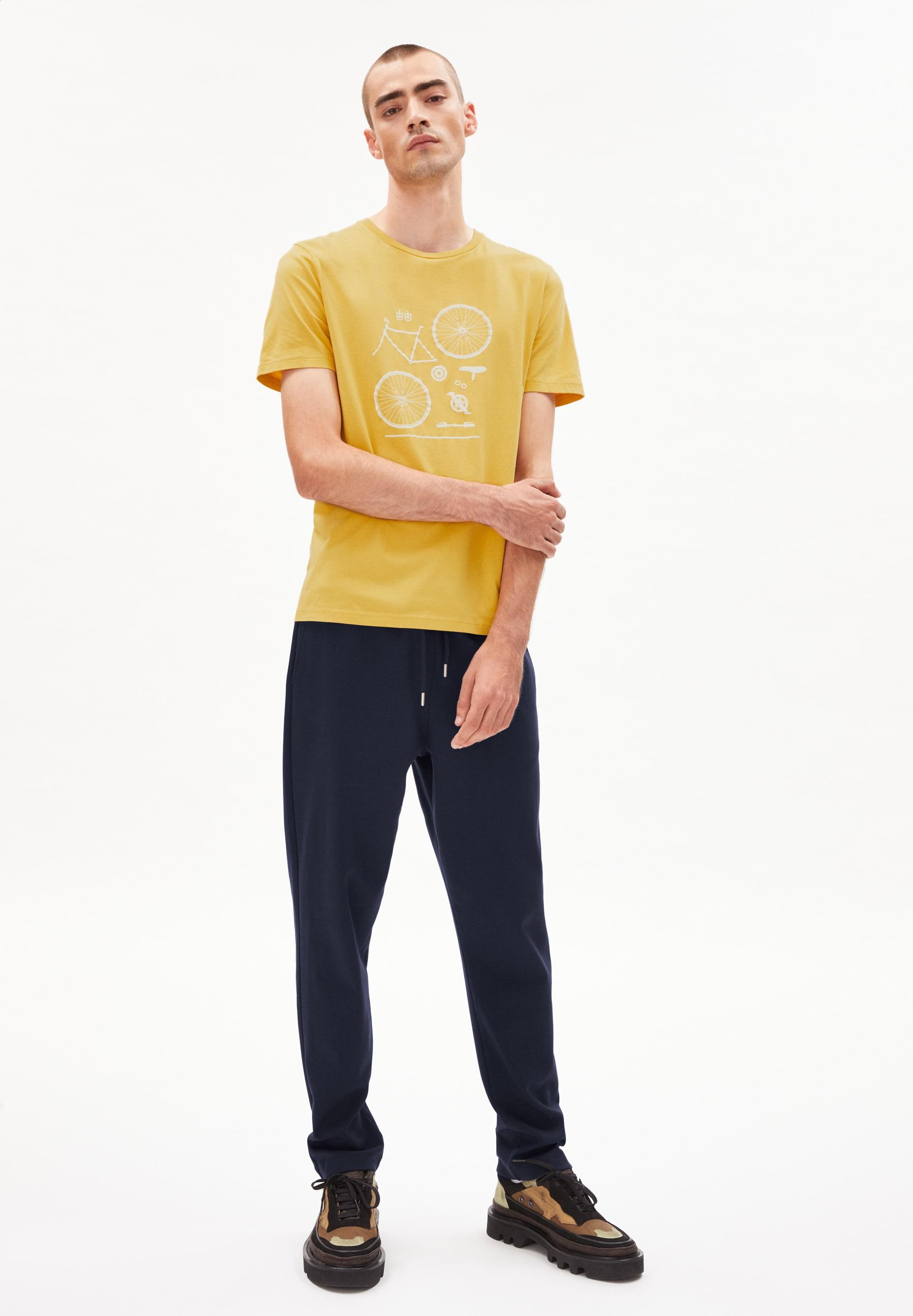 JAAMES BIKE PARTS T-shirt van biologisch katoen