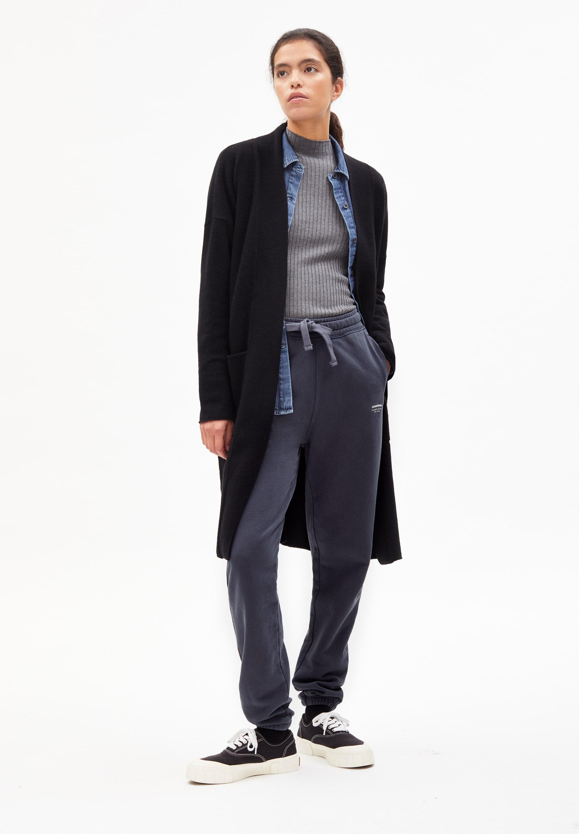 LAONAA RECYCLED WOOL Cardigan en laine biologique mélangée