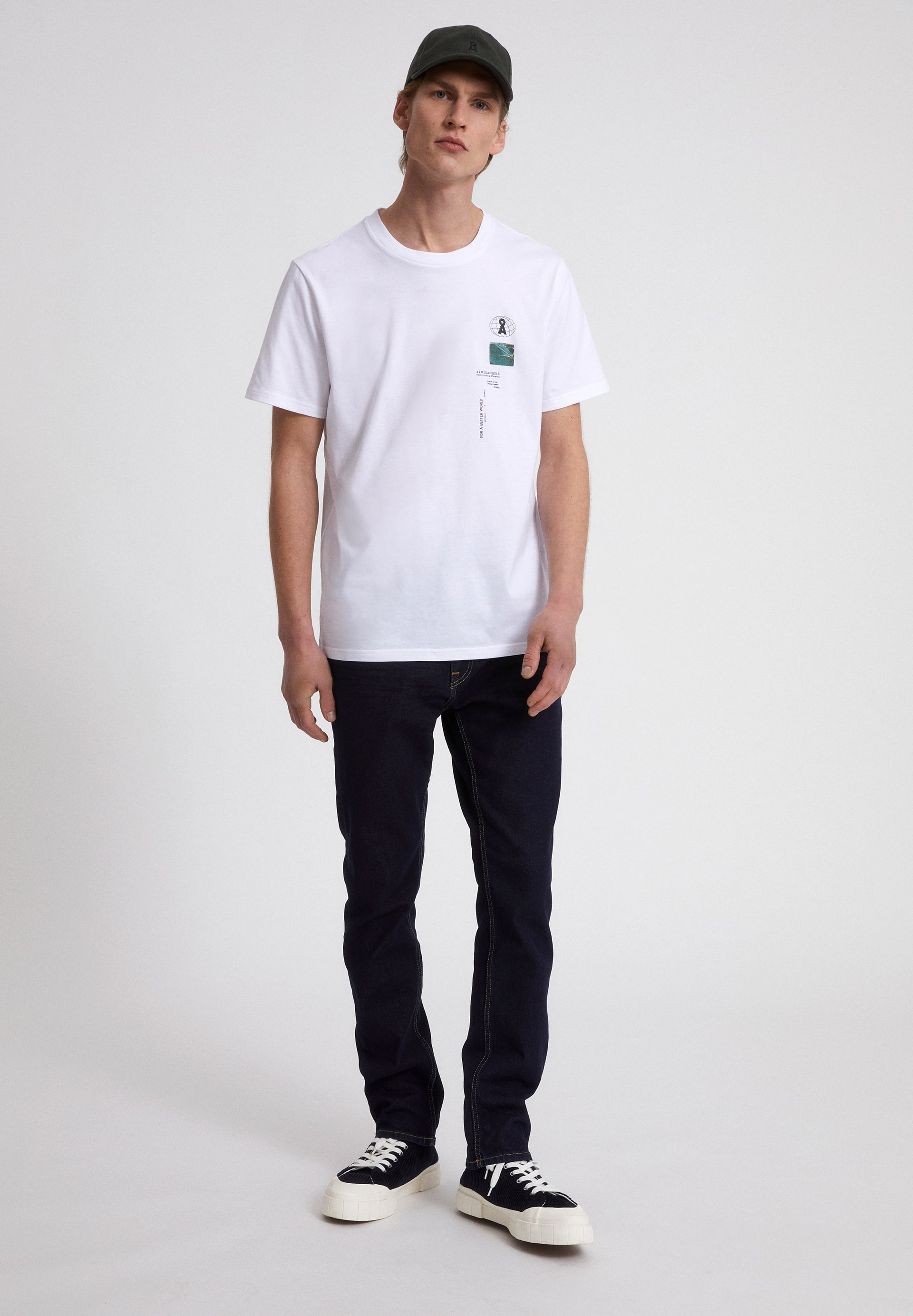 AADO BETTER WORLD T-shirt en coton biologique
