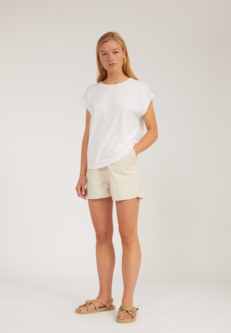 OFELIAA SOLID T-shirt en coton bio